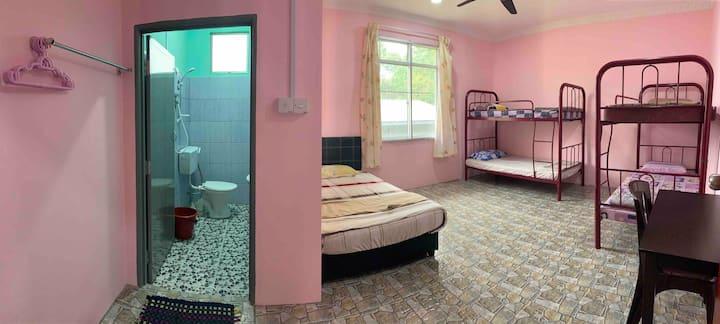 Poring Hot Spring Homestay   Room 7 Deluxe Family