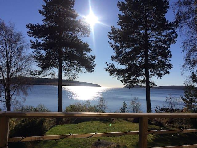 Hus vid havet i Höga Kusten - Örnsköldsvik