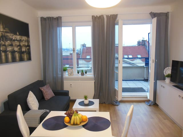 Cozy apartment with terrace in Prague Centre