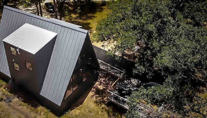 New A-Frame in Nature, Minutes from Main