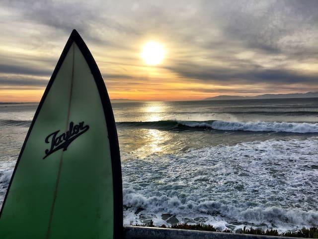 Near the West Cliffs of Santa Cruz!