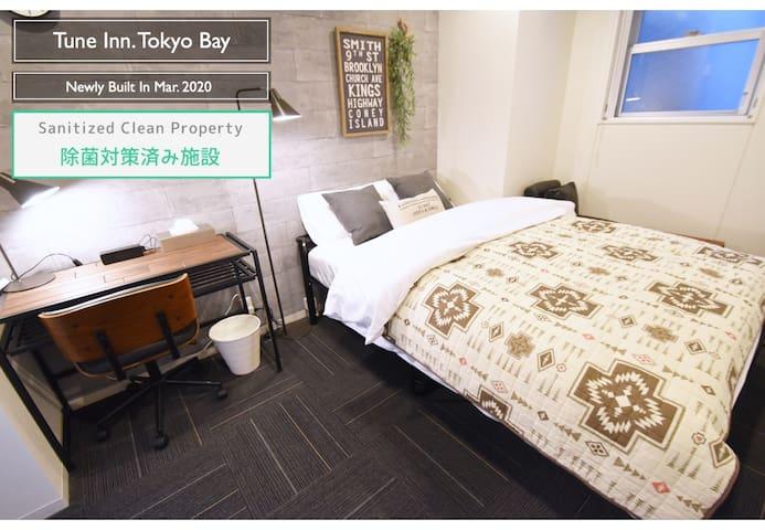 ☆Newly Built☆Tune Inn/Hotel Regalo 24㎡/Odaiba1