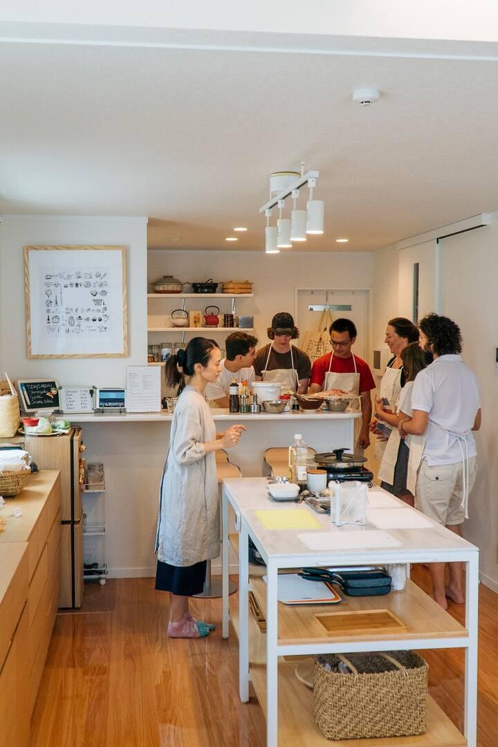 Japanese modern style kitchen studio!