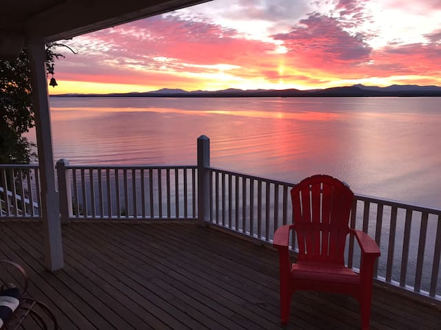 An Adirondack experience on Lake Champlain AWAITS.