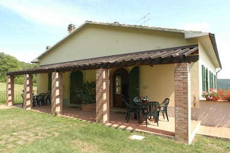 La Burraia-Appartamento Limoni - Gambassi Terme -Fi- - Lägenhet