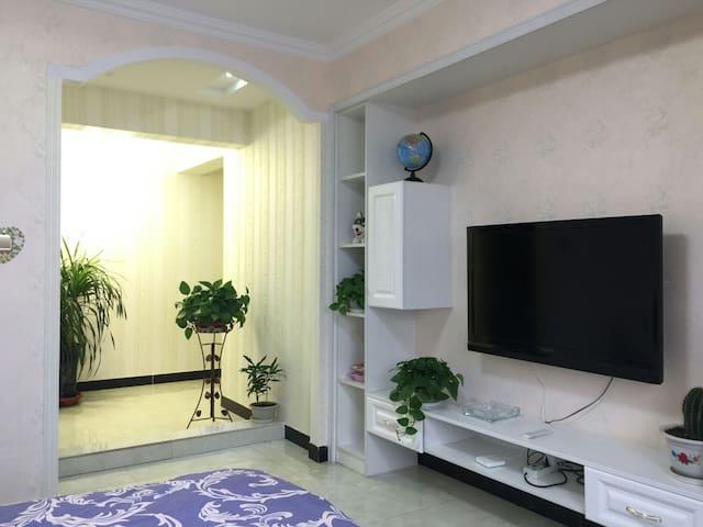 敦煌市区观景两室电梯空调房 - Jiuquan - Wohnung