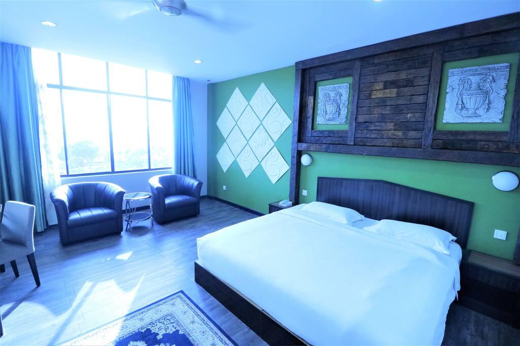 Votre chambre, lumineuse, vue sur mer