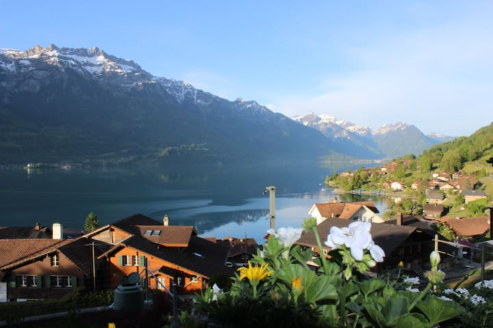 Panoramastudio Lake of Brienz - Oberried am Brienzersee - Appartement