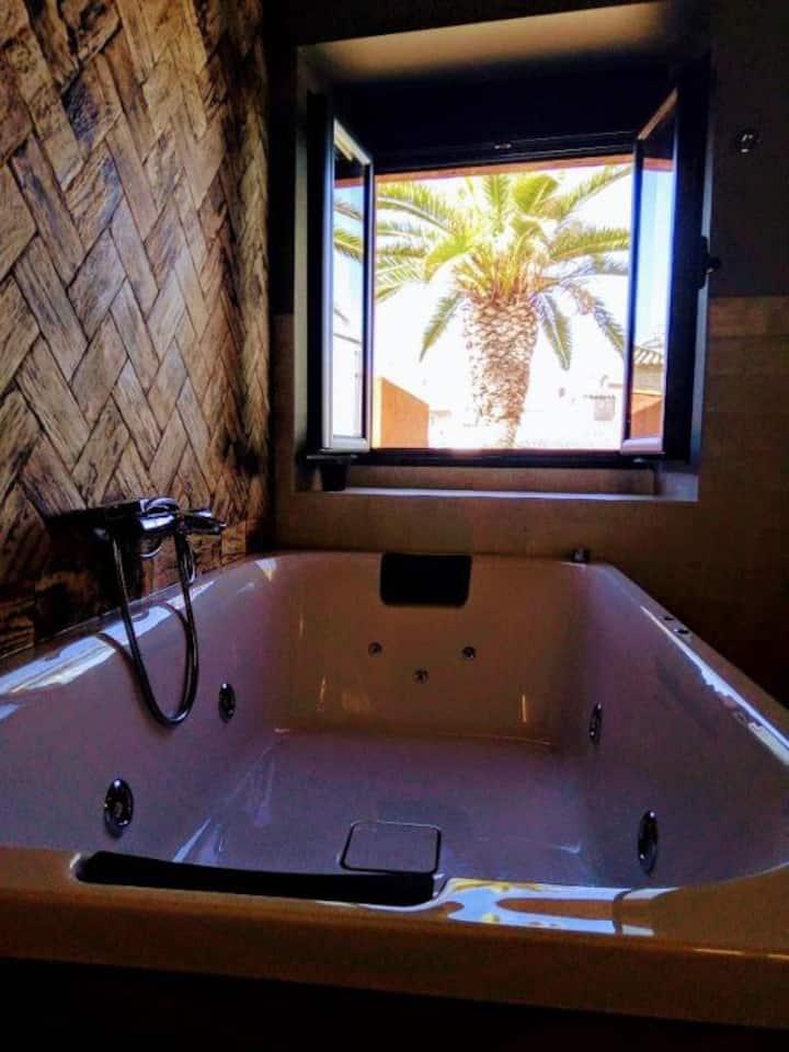 Suite Deluxe con bañera hidromasaje