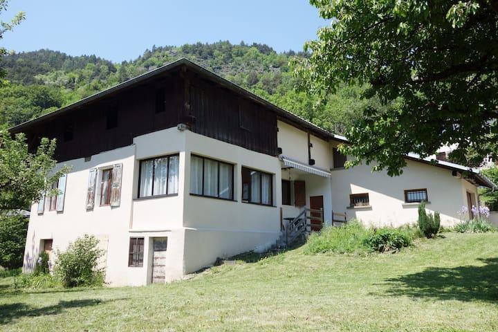 Une maison familiale en Savoie