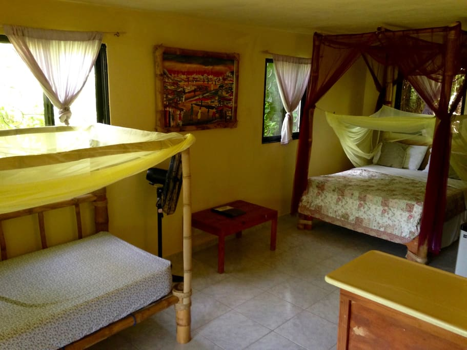 Typical Guest Bungalow/ Bedroom