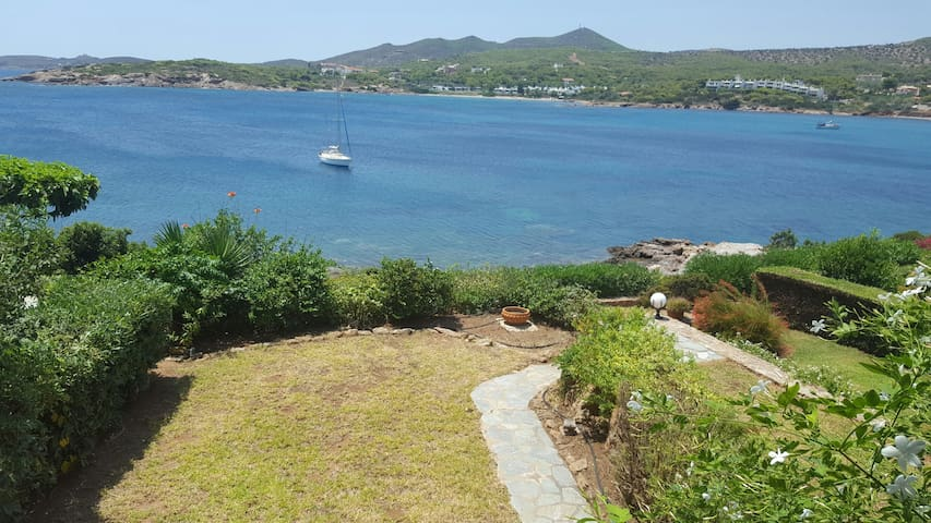 3BD Beach House with amazing view! - Sounio - Casa