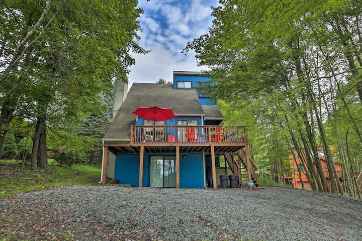 Hideout Home 10 Mins to Ski Area in Lake Ariel