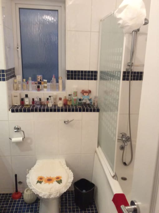 Toilet and Shower/Bath