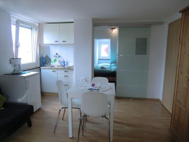 altstadtnahe, gemütliche Dachgeschosswohnung - Nürnberg - Appartement