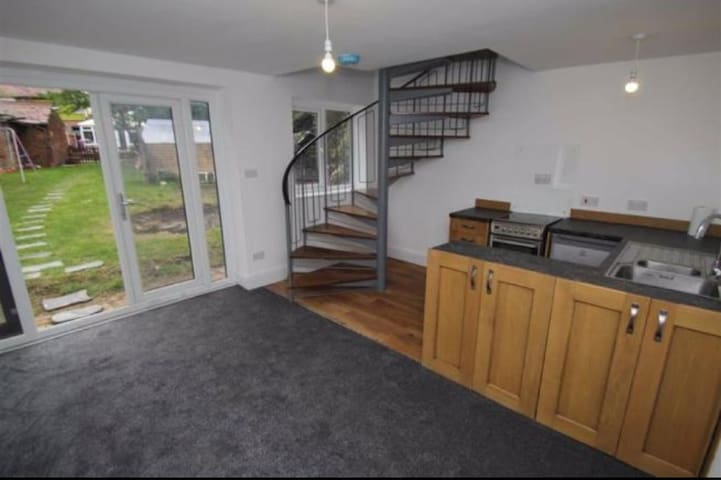 Brand new 1 bedroom  detached converted stable