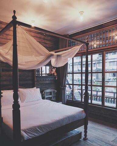 Canale Hostel Khaosan : Deluxe II Room - Bangkok