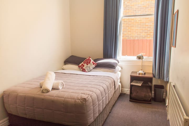 Double Room (Shared Bathroom) - YHA Christchurch