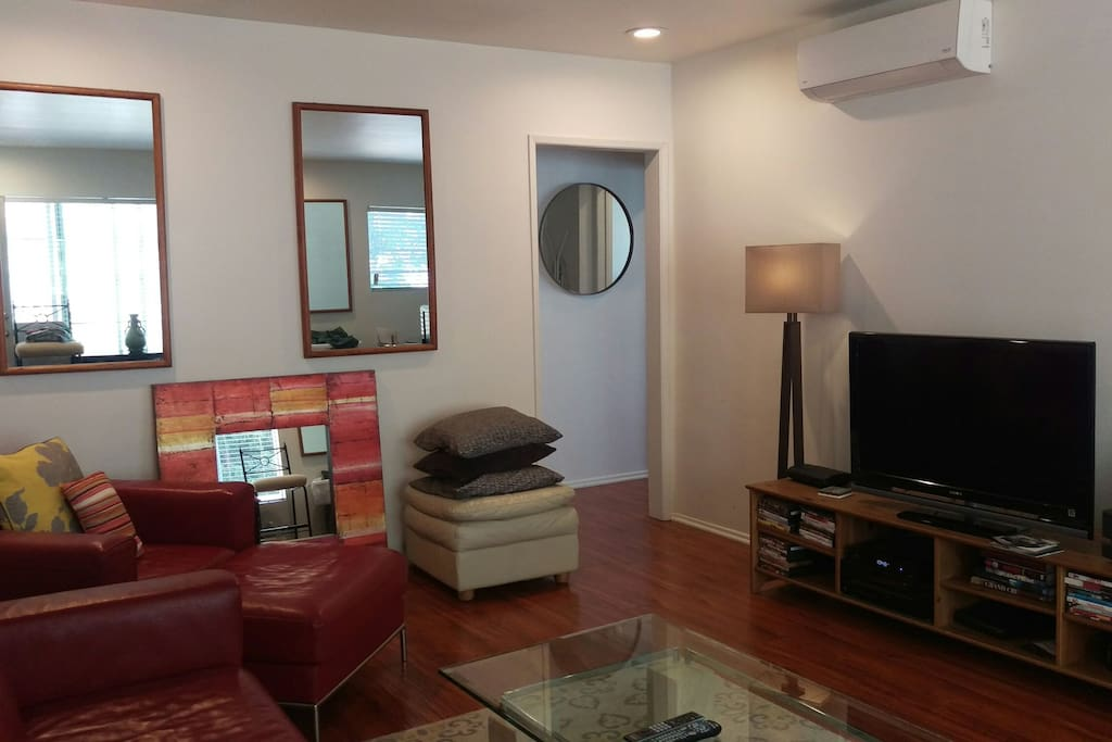 Living room/flat screen tv