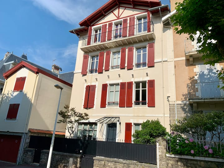A central location in the heart of Biarritz