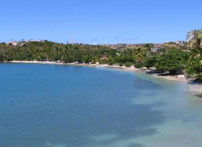 Lance Aux Epine Beach - so close!
