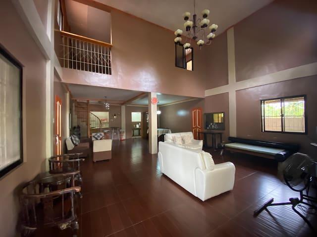 Living Room (shot from the sliding door entrance)