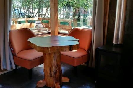 Cabaña Choroy- Matrimonial - Pucón - Alojamento ecológico