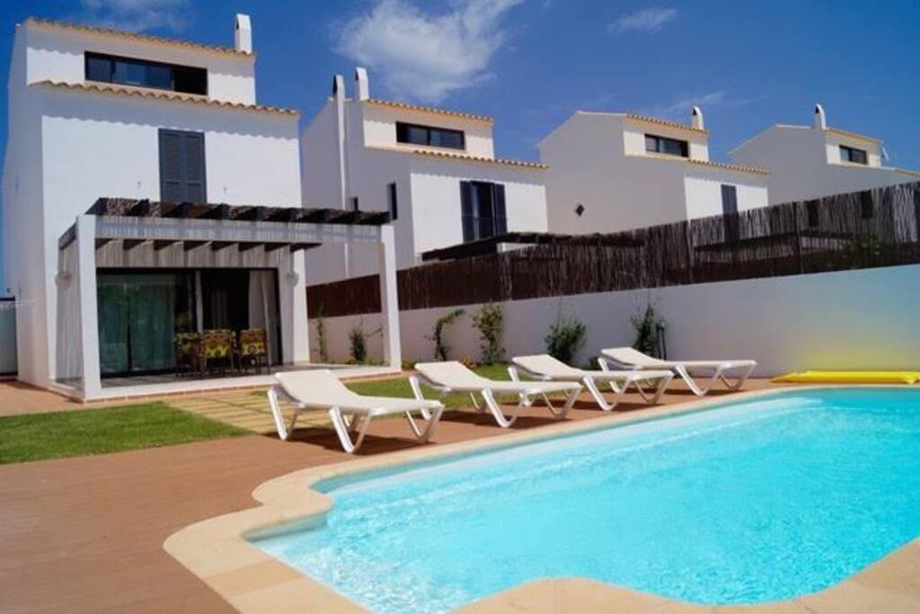 casa unifamiliar piscina 7 personas casas en alquiler