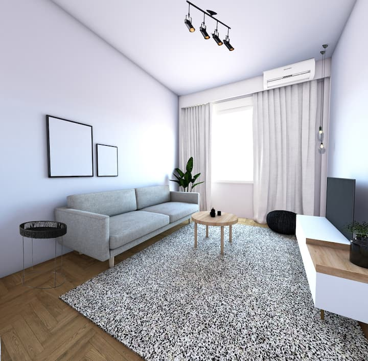 Serene 1 BR Apartment in Koukaki
