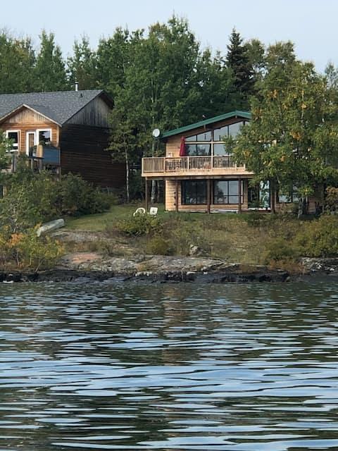 Pokój i piękno nad jeziorem Superior