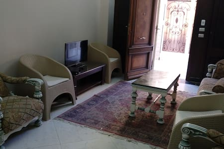 Ground private entrance apartment - 6th of October City