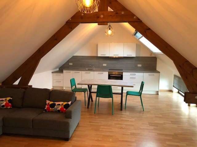 Appartement 2 chambres 6p.