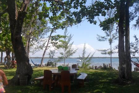 Ilha do Manguinho, paraíso do agito ou do sossego. - Morro de São Paulo - Ø