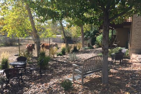 Studio with many amenities (neighbor's horses) - Wheat Ridge - Apartment