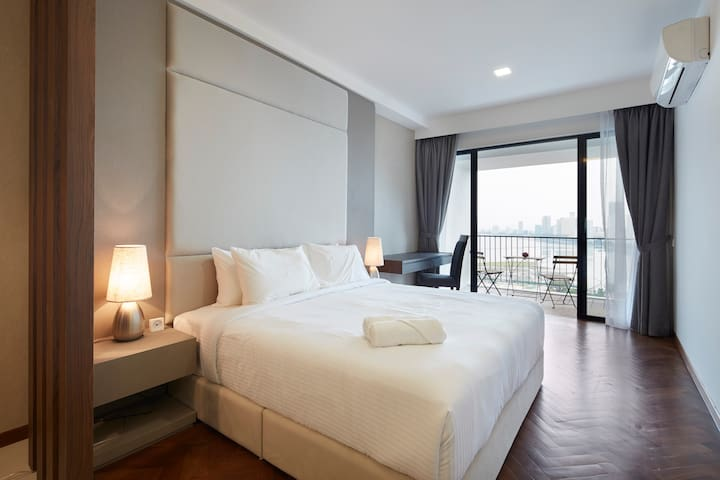 180° Penang Seaview with Balcony Premier suite