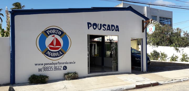 Qto Duplo Casal - Porto Marola - Porto de Galinhas