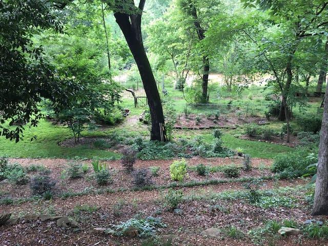 Bedroom #1 at Riverside Botanical Garden