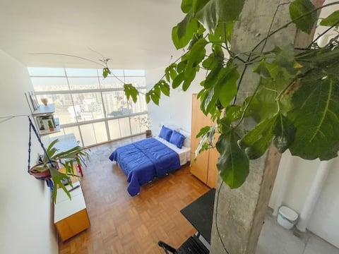 Copan - Clean and stilysh studio & amazing view