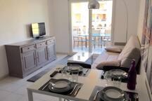 Appartement à Port Frejus, 150 m de la plage...