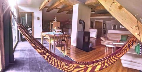 Espaçoso apartamento no Parque Nacional Kalkalpen
