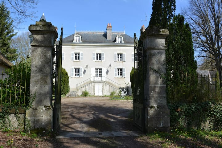 château de la Bijourie. - Cour-Cheverny - Linna