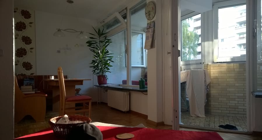 Fully furnished, beautiful flat w/ balcony (4 ro.) - Berlin