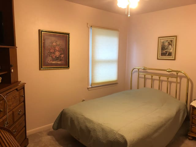 Bedroom 2 is a double/adjustable bed.
