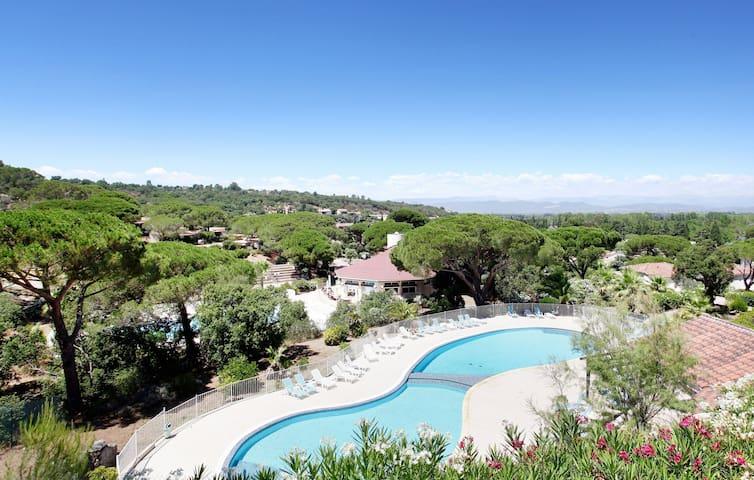 Appartement cosy et au calme, accès piscine