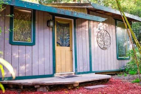 Bamboo Cottage in Aptos Mountain Retreat Center