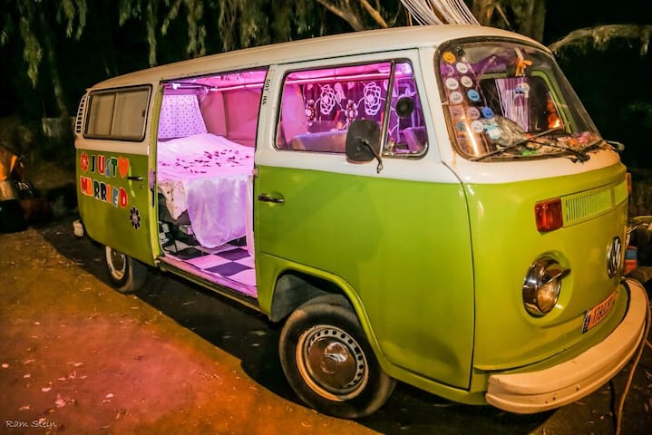Super cool camper van