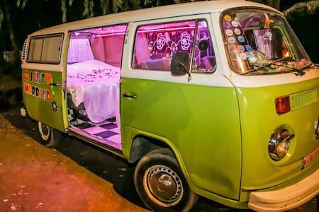Super cool camper van