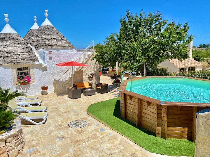 Trulli Fenice(Trullo whit 1 bedroom)