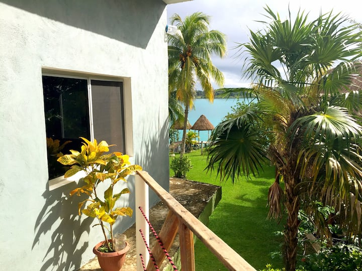 Habitación K'ín, en Xulha Laguna de Bacalar