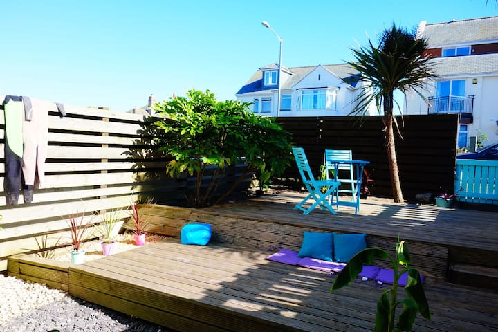 Beach house with pool & garden pentire, fistral - Newquay